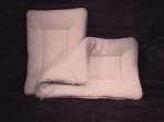 Fleece Crate Pads - (Call for Availability and Shipping Costs)